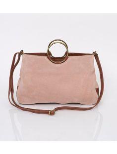 dd0262fca96 Crossbody Bag, Suede Leather Handbag, Crossbody Purse, Woman Leather Bag,  Wristlet Clutch Purse, Gift For Her, Pink Leather Bag, HUGE