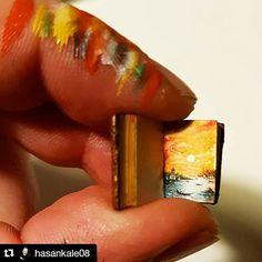 #Repost @hasankale08 with @repostapp  .....book....tiny....tiny..... ...#art #artdesign #picture #painting #amazing #interesting #crazy #micro #microart #minyatur #miniature #miniatureart #hasankale #instagram #artist #handpainted #design #photooftheday #drawing #resim #extraordinary #picoftheday #sanat #fineart  #artoftheday #artgallery #artwork #artfido #book