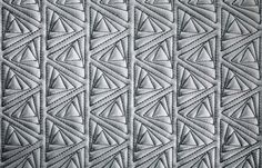 BOXMARK Royal Iceland Leather wall covering in Triangle Soft Touch