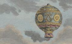 """La locomotion aérienne : la collection dite """"des ballons"""" dans Gallica"""