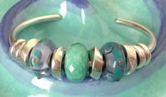 A stunning Trollbeads Bangle design from a Trollbeads collector on Trollbeads Gallery Forum!