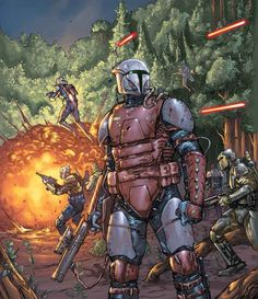 See the evolution of deadly armor worn by Boba Fett, Pre Vizsla, and other great Star Wars warriors. Star Wars Film, Star Wars Fan Art, Star Wars Concept Art, Star Wars Rpg, Star Wars Poster, Game Concept, Star Wars Characters Pictures, Star Wars Images, Darth Bane