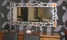 Χειροποίητη δημιουργία μου σε ξύλο-υπάρχει δυνατότητα διαφοροποιήσεων. Vanity, Mirror, Furniture, Home Decor, Dressing Tables, Powder Room, Decoration Home, Room Decor, Vanity Set