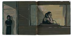 MOON Sketchbook — KATARZYNA ADAMEK-CHASE