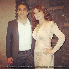 Bassem Youssef & Elissa