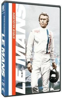 """FEATURES WIDESCREEN VERSION, DOLBY 5.1 AUDIO , THE MAKING-OF FEATURETTE,""""FILMING AT SPEED and the THEATRICAL TRAILER 40th ANNIVERSARY RE-MASTERED VERSION OF THE ORIGINAL MOVIE DVD Le Mans, filmed in 1"""