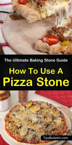 Jun 2019 - Make delicious homemade pizza with your own baking stone! Our guide will show you how to use a pizza stone to prepare incredible pizza and bread! Best Pizza Stone, Stone Pizza Oven, Good Pizza, Pizza Dude, Bread Pizza, Grilled Pizza Stone, Pampered Chef Pizza Stone, Pizza
