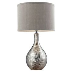 "Mercury Row Gama 21.5"" H Table Lamp with Drum Shade"