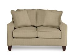 Casual comfort at its finest! The Talbot Loveseat is clean and informal -optional pillow accents, contrasting welt and nail head trim are also available to help you create the look that's right for you. La-Z-Boy quality construction offers countless hours of durability and comfort.<br /><br />
