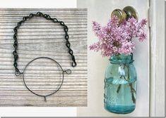 Mason Jar Hanger - Mason Jar Crafts Love
