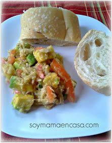 1000 images about recetas con atun on pinterest recetas - Ensalada de arroz con atun ...