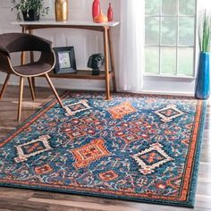 Shop for nuLOOM Traditional Ornamental Diamonds Multi Rug (7'10 x 11'). Get free shipping at Overstock.com - Your Online Home Decor Outlet Store! Get 5% in rewards with Club O! - 18369098