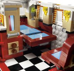 Inside view: The new VW Camper brings back memories of love, peace, and road-tripping.  (Credit: Lego)