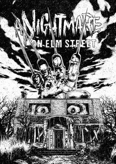 A Nightmare on Elm Street by Andrey Stroganov via @altmovieposters. #PinterestHorrorBest https://t.co/sMtMZY6wZ0