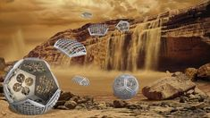 Cool NASA Concept Envisions a Shapeshifting Robot to Explore Saturn's Moon Titan Transformers, Warp Drive, Saturns Moons, Barrel Of Monkeys, Neutron Star, Planetary Science, Explorer, Astrophysics, Titans