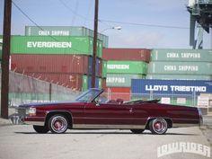 Cadillac LeCab Le Cabriolet BUILT BY Hess /& Eisenhardt BADGE LOWRIDER