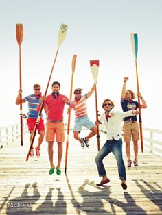 McNeal goes on holidays in its Spring-Summer campaign. Male model Noah Mills plays the main role of the weekender, wearing label's summer vintage inspired wear, preppy style suits and classic casual pieces. Preppy Mens Fashion, Nautical Fashion, Men's Fashion, Nautical Style, Remo, Sharp Dressed Man, Well Dressed, Prep Boys, Canoa Kayak