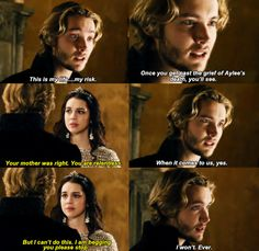 Francis and Mary's love is so strong and they are both so stubborn! But part of me still wants Mary to chose Bash!