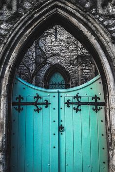 St. Mark's Church - Primrose Hill, London, England door