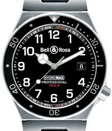 Bell and Ross Hydromax, oil filled watch rated to over 11,000 meters deep. Yup, I didn't miss type.