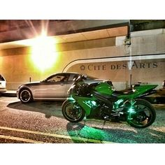 Green R1 Photo: @kinda iz Hashtag #2WP for a chance to be featured #motorbike #motorcycle #sportsbike #yamaha #honda #suzuki #kawasaki #ducati #triumph #victory #buell #aprilia #harleydavidson #r1 #r6 #cbr #gsxr #fireblade #hayabusa #zx10r #green #bmw #ktm #audi #bikelife #Twowheelpassion
