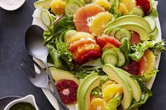 Citrus Avocado Salad - What's Gaby Cooking