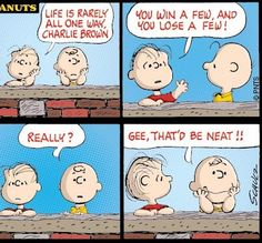 #CharlieBrown #Linus Life Lesson #Quote
