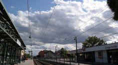 Habos felhők az égen.