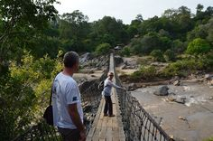 Mkulumadzi grand entrance -- Robin Pope Safari lodge in Malawi -- Majete