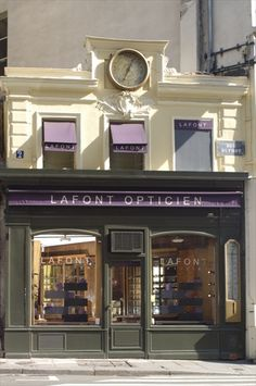 I wish I could work here - the Lafont boutique in the Rue St Honoré.  Next visit to Paris, this is a stop!