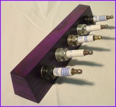 Upcycling-Schlüsselbrett      5-Zylinder