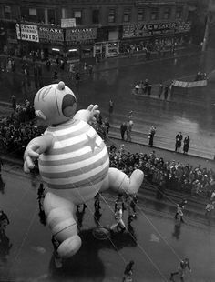 1930s Macy's Thanksgiving Day parade.