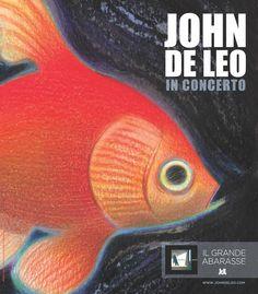 Manifesto John De Leo Grande Abarasse Orchestra in concerto