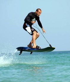 New jetboard...half surfboard, half jetski!!