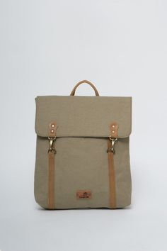 BONENDIS - LONDON OLIVE BACKPACK #bonendis #london #olive #backpack #vintage #handmade