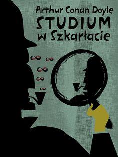István Szathmáry, A Study in Scarlet- Polish Book Cover