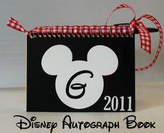 Disney Craft: Autograph Albums.