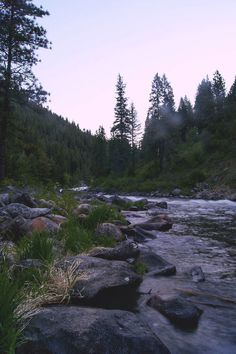 Payette River Boise National Forest, Idaho