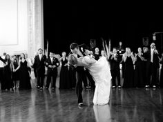The most romantic first dance dip | Jess Robertson Photography