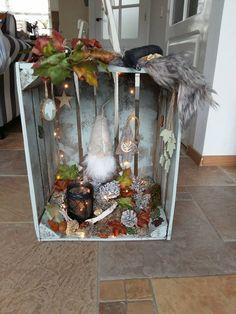 Winter fairytale kisten Fairytale, Ladder Decor, Home Decor, Crates, Fairy Tail, Fairytail, Decoration Home, Room Decor, Fairy Tales
