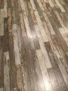 """""""I installed 500sqft it in are playroom and living room. All are friends and family ask us if we're going to put a clear coat over it because they think it is real wood. We are very happy with the way it turned out."""" http://www.lumberliquidators.com/ll/c/pad-Bull-Barn-Oak-Dream-Home-Kensington-Manor-12BBO/10039081"""