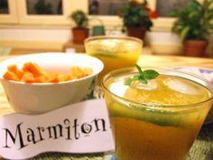 Cocktail Rhum, Mangue, Menthe fraiche et Citron vert - Recette de cuisine Marmiton : une recette