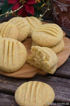 Christmas cookies – custard biscuits … - Top Of The World Custard Recipes, Pecan Recipes, Fudge Recipes, Cookie Recipes, Peanut Butter Dessert Recipes, Chocolate Peanut Butter Fudge, Chocolate Recipes, Custard Cookies, Cookies Et Biscuits