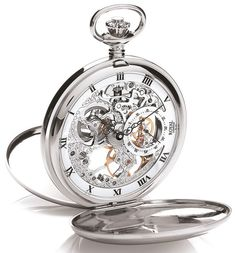 """Montre Gousset mécanique Royal London par Michel Comte """"horloger"""""""