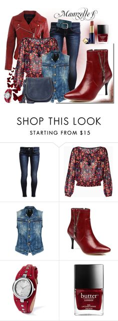 """Petits Souliers"" by mamzelle-f ❤ liked on Polyvore featuring G-Star Raw and Estée Lauder"