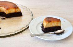 Κέικ σοκολάτας με κρέμα καραμελέ (VIDEO) - cretangastronomy.gr Cheesecake, Pie, Desserts, Food, Torte, Tailgate Desserts, Cake, Deserts, Cheesecakes