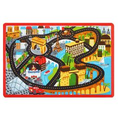 "Disney Pixar Cars Game Rug - 31.5"" x 44"""