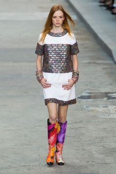 visual optimism; fashion editorials, shows, campaigns & more!: chanel s/s 2015 paris