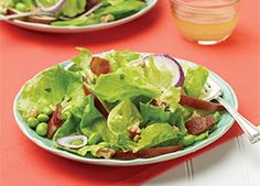 This quick salad has a unique combination of flavors for very little work.