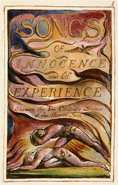 Title page of Songs of Innocence and Experience by William Blake